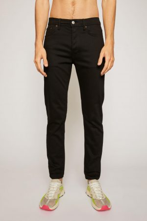 Jeans Acne Studios Homme | Slim tapered jeans Stay Black