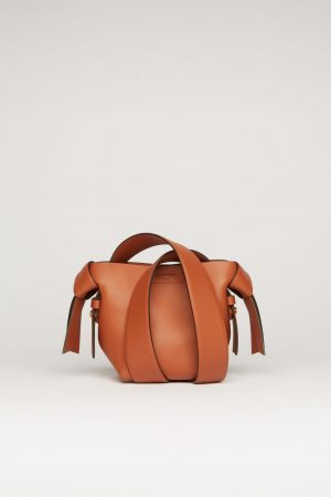 Cross body bag Acne Studios Femme/Homme | Small leather bag Almond Brown