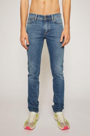Jeans Acne Studios Homme   Skinny fit jeans Mid Blue
