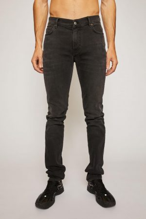 Jeans Acne Studios Homme   Skinny fit jeans Used Black