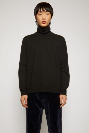 Maille Acne Studios Homme | Roll neck sweater Black